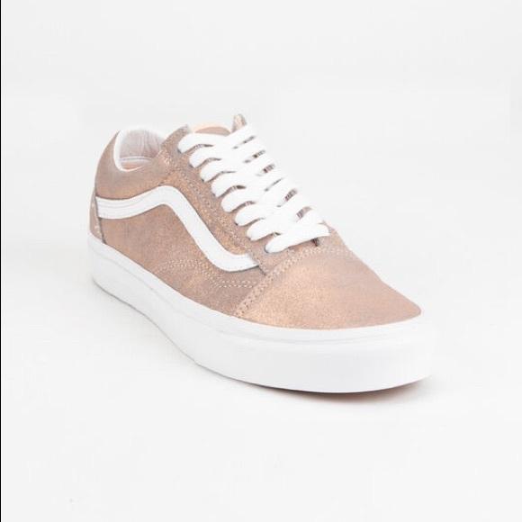 Vans Shoes | Vans Old Skool Rose Gold